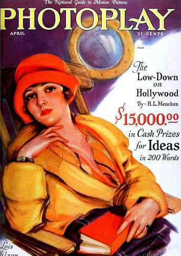 Lois Wilson, Photoplay Magazine, April 1927 | Flickr - Photo Sharing!