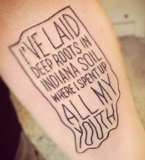 indiana tatoos | Fifty State Tattoos (And D.C. Too!) | Inked Magazine