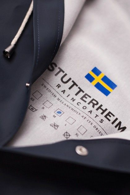 THE STOCKHOLM – A NEW DESIGN FROM STUTTERHEIM RAINCOATS: