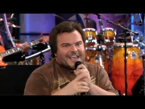 Jack Black Sings War Pigs On The Tonight Show With Jay Leno