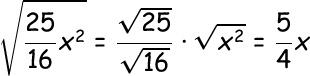 simplifying radical expressions