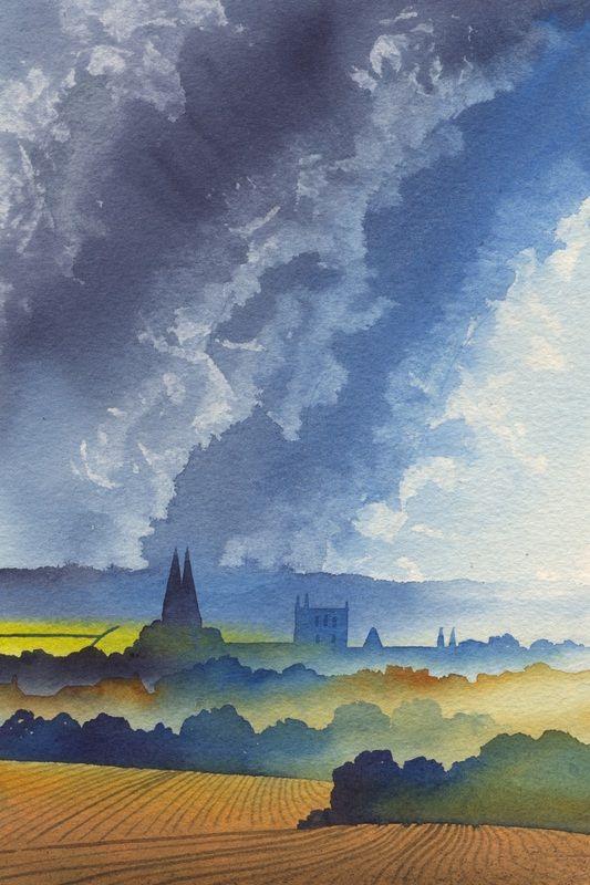 Ian Scott Massie Artist Masham Yorkshire home page - Ian Scott Massie: a painter and printmaker based in North Yorkshire,