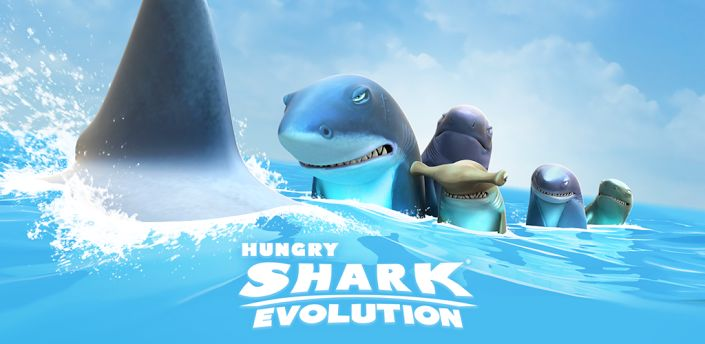 Hungry Shark Evolution v1.7.4 Mod (Unlimited Money & Diamond) - Frenzy ANDROID - games and aplications