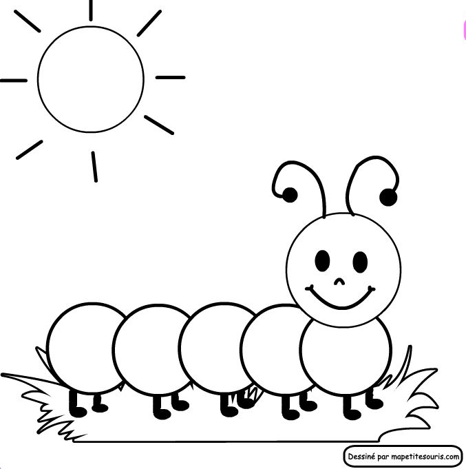 Coloring Pages Of Caterpillars | Free Printable Coloring Pages More