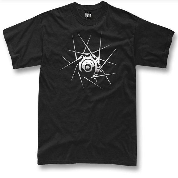 Rueda de bicicleta de camiseta ciclista de regalo impresión de