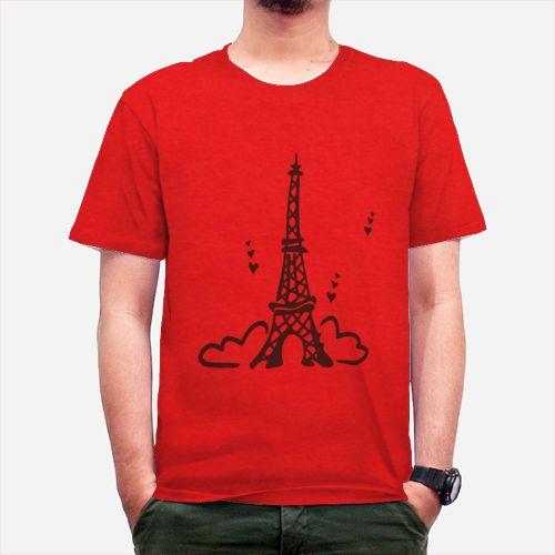Eiffel dari Tees.co.id oleh Embun Kartun