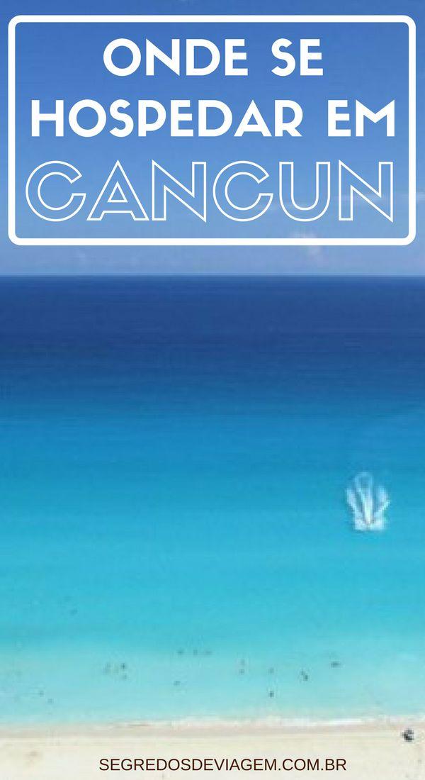 Descubra em que região se hospedar em Cancun e também as melhores dicas de hotéis na zona hoteleira, riviera maia, playa del carmen e centro de Cancun. Dicas de viagem para aproveitar o melhor do mar do caribe e das atrações mexicanas.