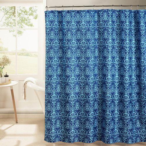 Found it at Wayfair - Oxford Weave Textured Shower Curtain Set