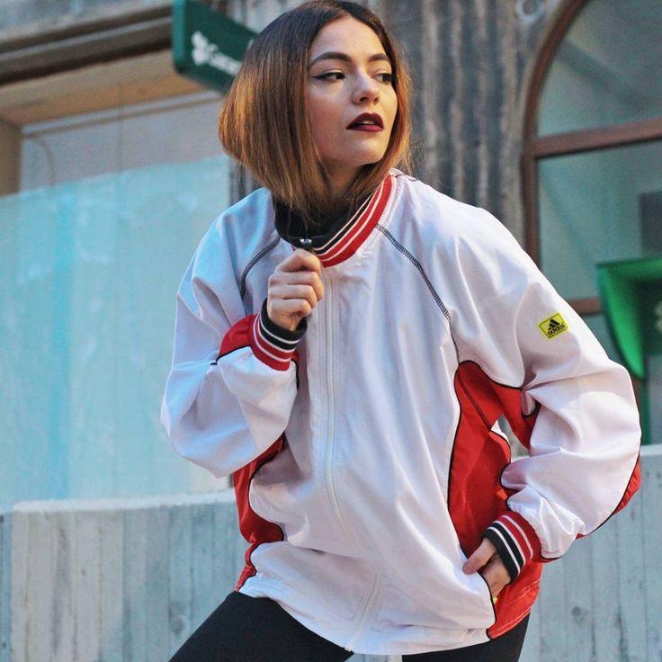 #tombabe #dushky #tomboy #jacket #adidas #streetfashion #streetwear #urban #fashion #women