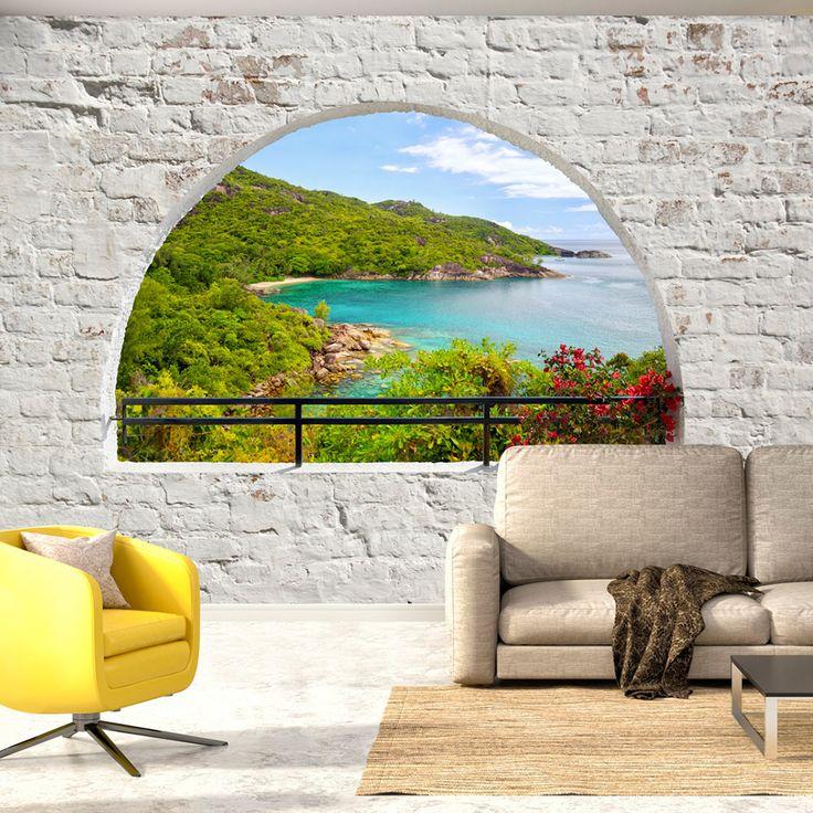 die besten 25 fototapete fenster ideen auf pinterest phototapete new york tapete und. Black Bedroom Furniture Sets. Home Design Ideas