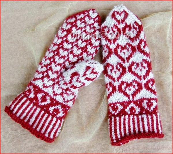 Small harts gloves by Cinciut.deviantart.com on @deviantART