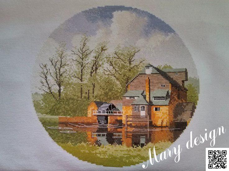 Панель Клейтона Watermill #cross_stitch #вышивка_крестом