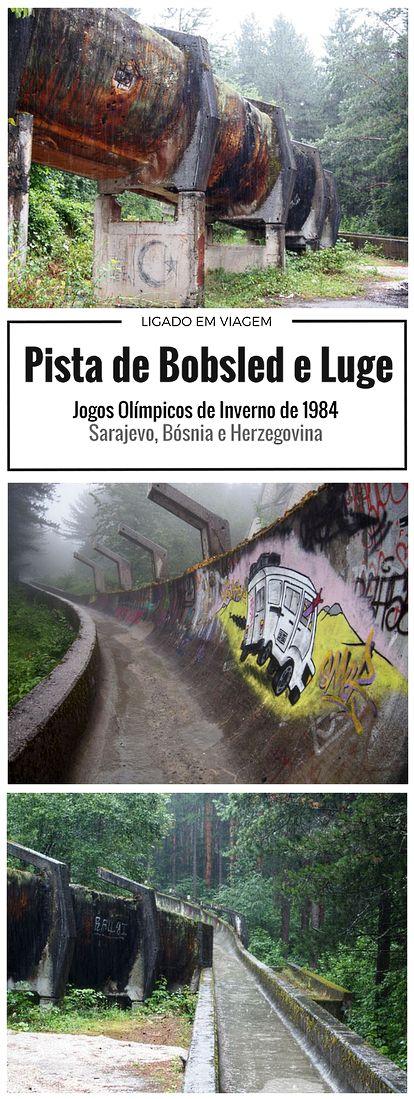 Um dos lugares mais incríveis e únicos que visitamos em nossas viagens, a abandonada Pista de Bobsled e Luge dos Jogos Olímpicos de Inverno de 1984 em Sarajevo na Bósnia e Herzegovina.