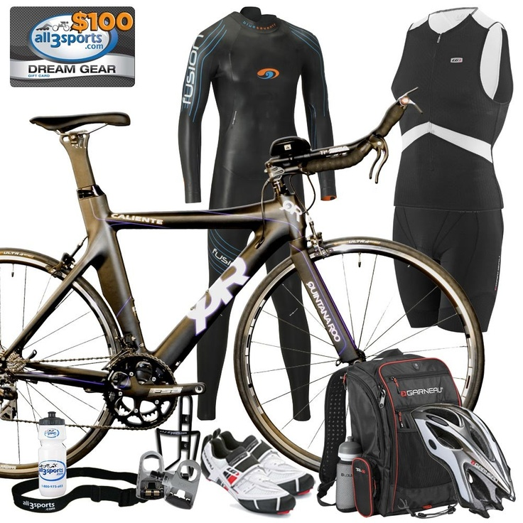 Triathlon Bike In Transition Zone High-Res Stock Photo