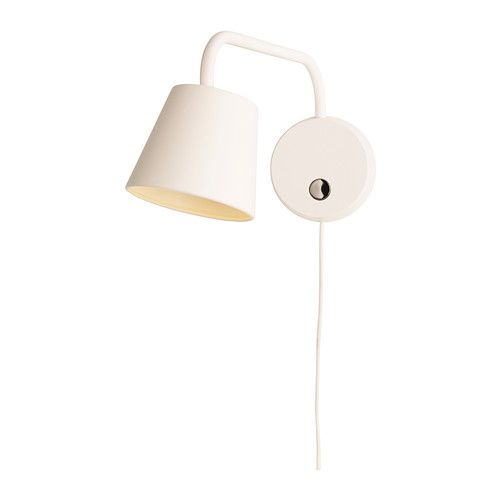 TISDAG LED wall lamp IKEA Uses LEDs, which consumes up to 80% less energy and last 20 times longer than incandescent bulbs. $49.99