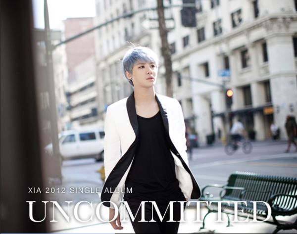 JYJ's Junsu releases album jacket cover and tracklist for 'UNCOMMITTED'