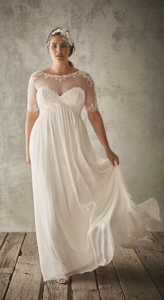 28 best images about plus size style on pinterest plus for David s bridal princess wedding dresses