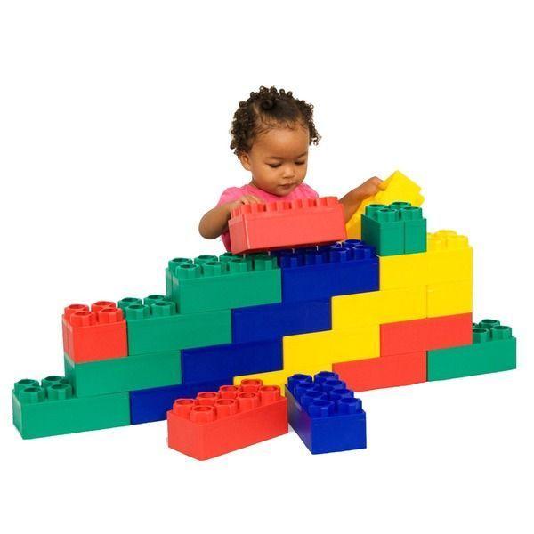 Building Blocks For Toddlers Preschool Jumbo Set Creative Play Time Kids Toys  #Serec