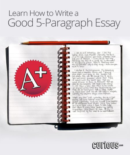 teaching students to write 5 paragraph essays