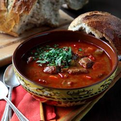 Traditional Hungarian Beef Goulash, and my new found love of Paprika (including where to get the good stuff)