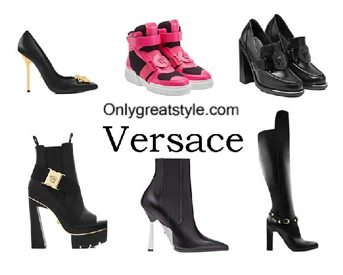 Versace shoes fall winter 2016 2017 footwear for women