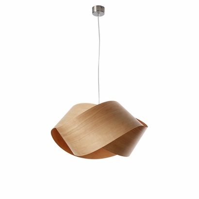 Nut Pendant Light - earthy and modern