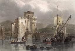Chalkis bridge at 1708