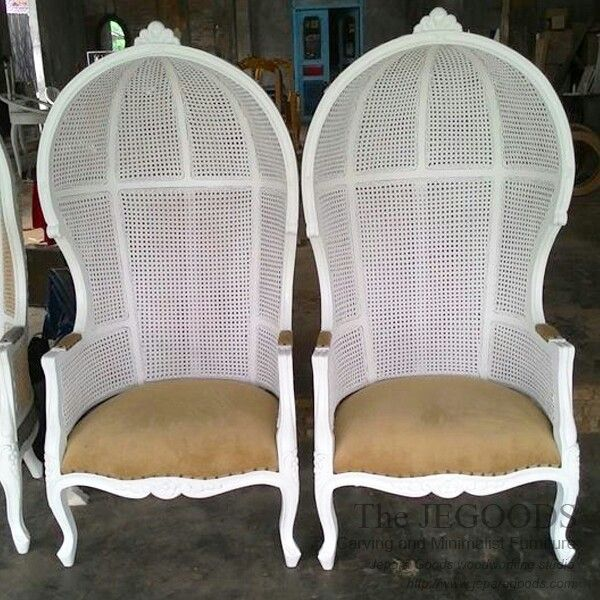 Kursi balon, kursi porter, canopy chair #furniturejepara #weddingchair #baloonchair #canopychair #mebeljepara #vintagefurniture #jeparagoods