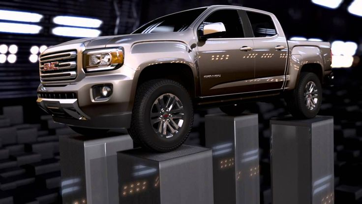 Meet the All-New 2015 GMC Canyon. This girly girl may be buying a truck. :)