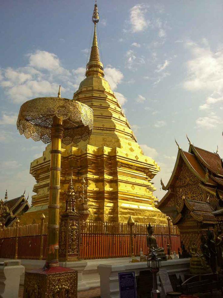 Wat Doi Suthep Vipassana Meditation Course Chiang Mai Thailand