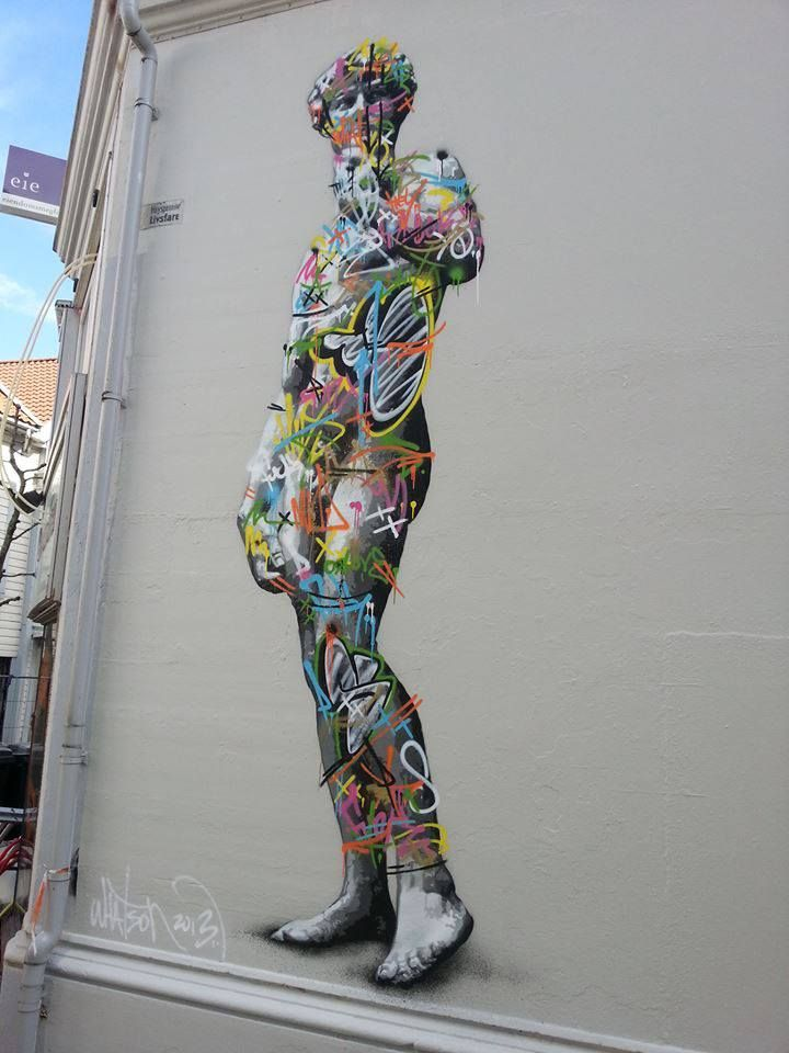 Martin Whatson.  #streetart #arteurbana #graffiti #urbanart #mural #wall
