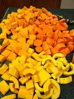 Canning for Fall - Squash, Pumpkin, and Sweet Potatoes