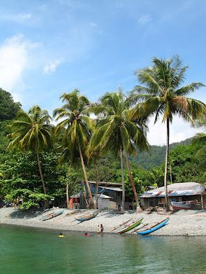 Fishing village beach - Papua