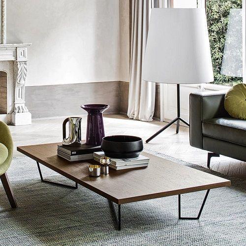 Low-T Coffee table Big Wave Floor Lamp