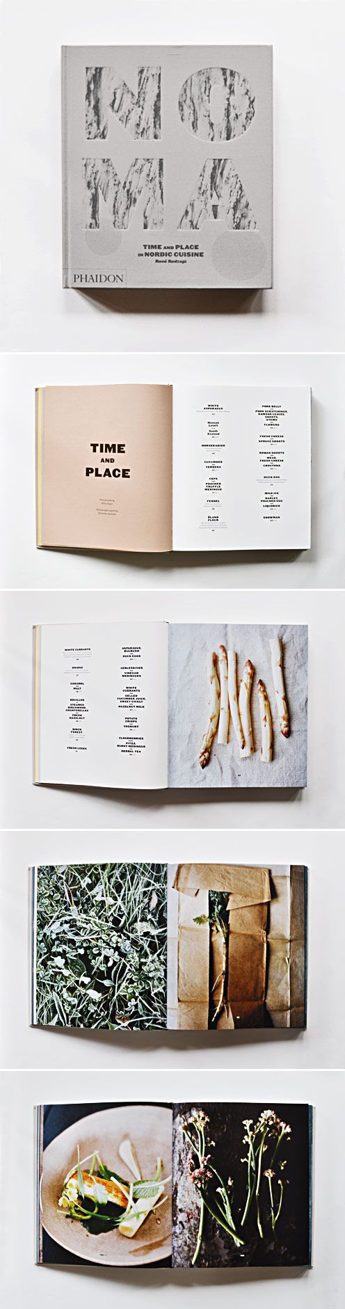 NOMA cookbook - if he hasnt been, he owns the book