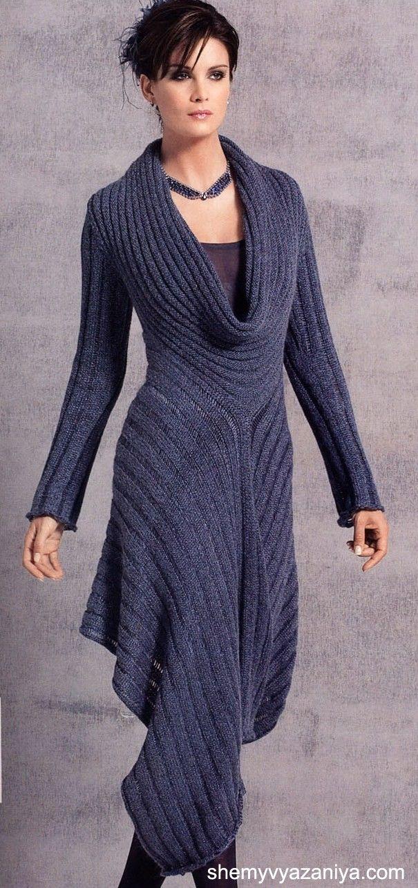 I LOVE this! Casaco Iongo-stunning indigo maxi-sweater.