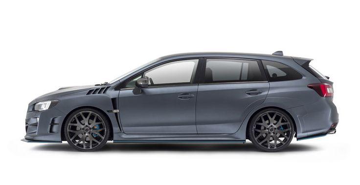 寬體暴力式樣 DAMD發表《Subaru Levorg progressive》空力改裝套件| 國王車訊 KingAutos