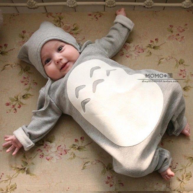 Nouveau 2015 haute qualité coton marque bébé charretiers Totoro vêtements romper bambins enfants bébé fille garçon colthing dans Tenues de Produits pour bébés sur AliExpress.com | Alibaba Group