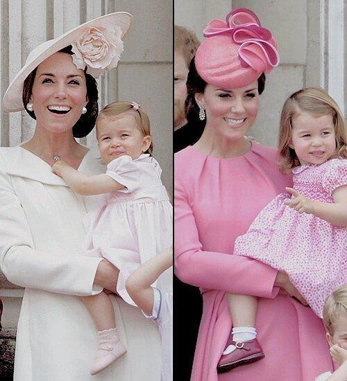 Kate Middleton Trendiest Color Millennial Pink Parade