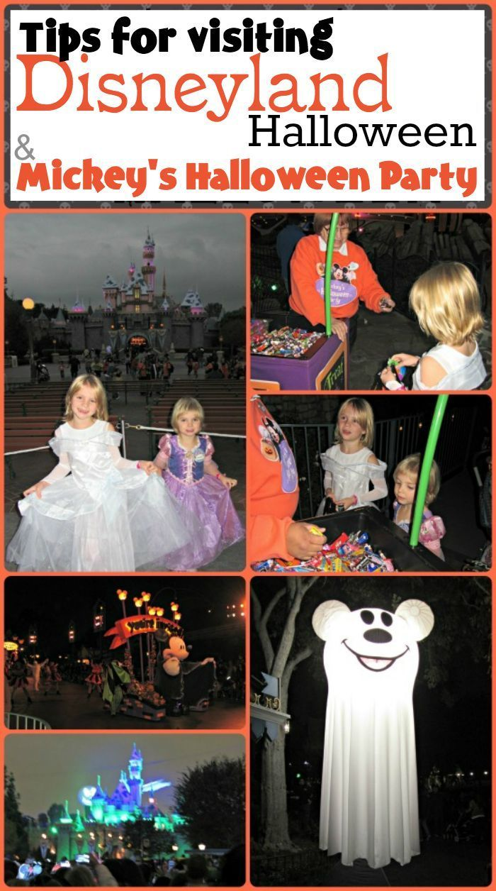 Learn more about what to expect at Halloween Time at Disneyland and Mickey's Halloween Party plus tips from our own visit.