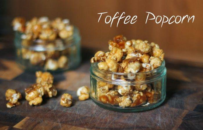HONEYGOLIGHTLY: Homemade Toffee Popcorn  http://www.honeygolightly.com/2014/02/homemade-toffee-popcorn.html  #toffeepopcorn #recipe #sweettreat