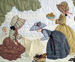 Seasons Bonnet Girls Original Quilt Patterns by Helen Scott