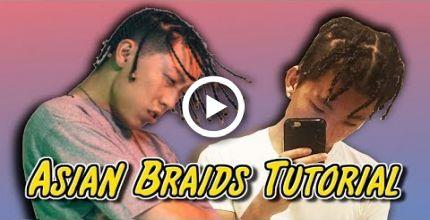 ASIAN BOX BRAIDS TUTORIAL!! (HOW TO BRAID YOUR OWN HAIR)
