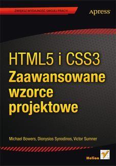 Zwiększ wydajność swojej pracy! Wykorzystaj gotowe rozwiązania w HTML5 i CSS3  Oszałamiające możliwości HTML5 pozwoliły projektantom na tworzenie zaawansowanych stron oraz aplikacji internetowych. Jednak wszędzie tam, gdzie realizowane są rozbudowane projekty, zaczynają się problemy ze...
