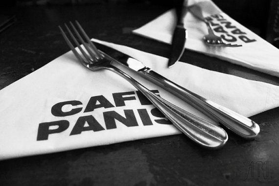 kitchen decor black and white food photography by ParisDecorPrints #artprint #black&white  #walldecor