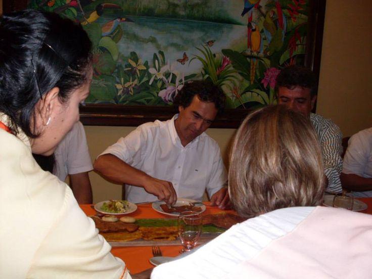 Alcalde de Medellin Sergio Fajardo