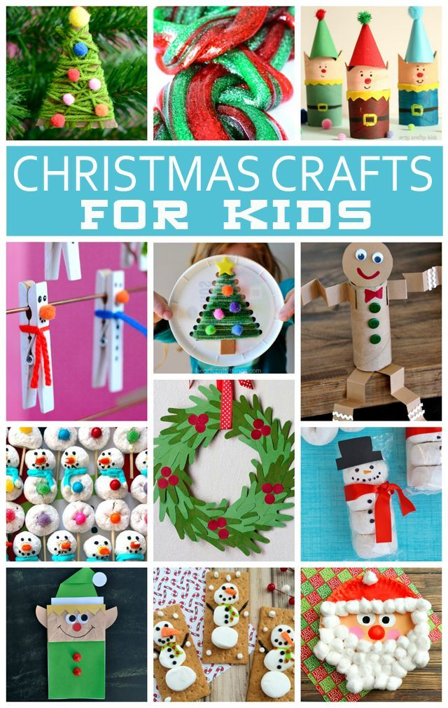 20+ Christmas Crafts For Kids | The cutest Kids Christmas Crafts!