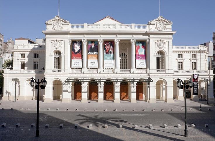 Municipal Theatre, Santiago, Chile.