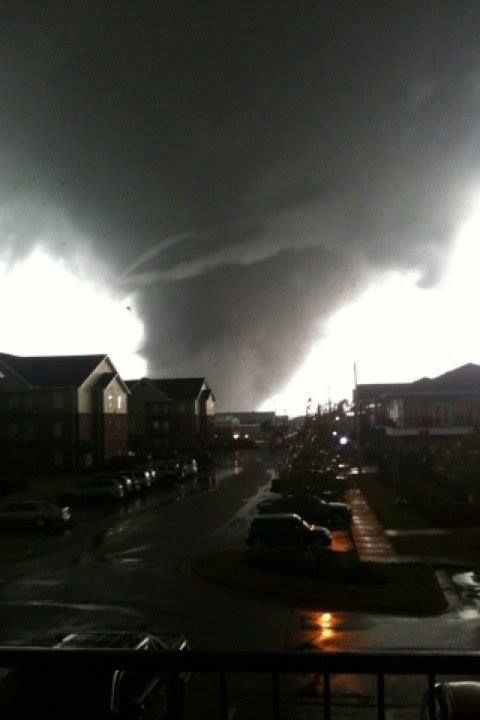 We just had a tornado last night it was the worse but thank you Jesus it pass us....and now we finna have another tonight again and I'm praying I hope it pass us again....please pray for Alabama