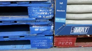 Chep pallets are more expensive but definitely better material